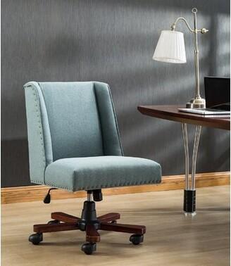 Lenard Task Chair Red Barrel Studio Upholstery Color: Blue