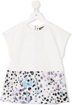 Roberto Cavalli abstract print T-shirt - kids - Cotton/Spandex/Elastane - 2 yrs