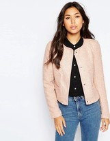 Vero Moda 3/4 Sleeve Button Front Jacket