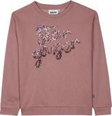 Molo Star gazer cotton-blend sweatshirt 4-14 years