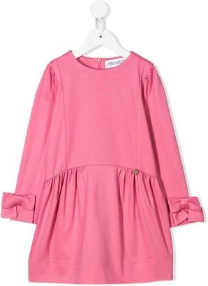 Simonetta long-sleeve mini dress