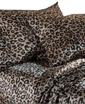 Elite Home Luxury Satin Solid Queen Sheet Sets Bedding