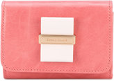 See by Chloe bow front wallet - women - Calf Leather - One Size