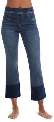 Spanx Cropped Flare Jean Leggings