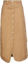 Thumbnail for your product : Ganni Woven Midi Skirt