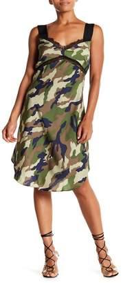 KENDALL + KYLIE Camo Slip Dress
