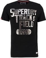 Superdry Trophy Print Tshirt Black