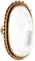 Stephen Dweck Mother of Pearl Doublet Cocktail Ring