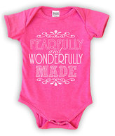 Urban Smalls Hot Pink 'Fearfully and Wonderfully' Bodysuit - Infant