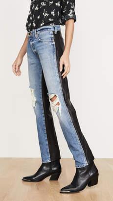 KHAITE Mixed Kyle Jeans