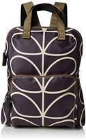 Orla Kiely Matt Laminated Linear Stem Print Backpack Tote