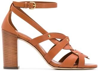 Tod's Cognac sandals