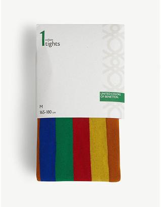 Benetton Graphic print tights