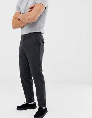 Farah Elderfield wool trousers in grey