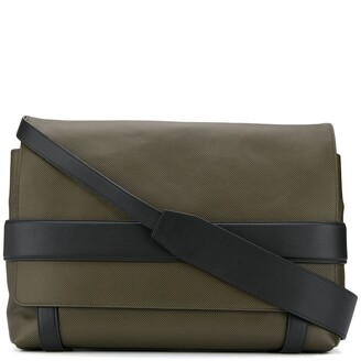 Bottega Veneta textured messenger bag