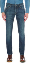 Brunello Cucinelli Selvedge Slim-fit Tapered Jeans