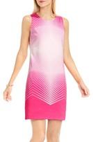 Vince Camuto Petite Women's Optic Print Shift Dress