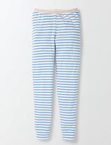 PJ Bottoms Ivory/Bright Bluebell Stripe Girls Boden
