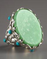 Lime Jade Ring