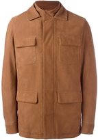Loro Piana cashmere military jacket