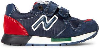 Naturino Toddler/Kids Boys) Navy Nylon Low-Top Sneakers