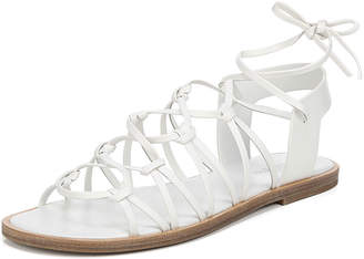 Vince Palmera Flat Leather Gladiator Sandals