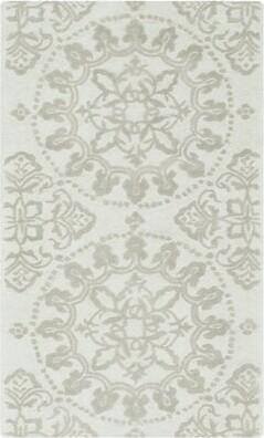"Martha Stewart Hand-Tufted Cotton Shale Area Rug Rugs Rug Size: Rectangle 9'6"" x 13'6"""