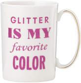 Kate Spade Simply Sparkling Mug Glitter