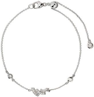 Astley Clarke 14kt white gold mini Icon Scala diamond bracelet