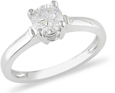 Julie Leah 3/4 CT Diamond 14K White Gold Solitaire Engagement Ring