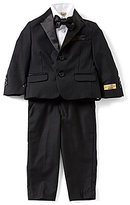 Class Club Gold Label Little Boys 2T-7 Button-Front Shirt, Bow-Tie, Pant & Jacket 4-Piece Tuxedo Set