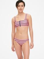 Gap Zip-Front Scoopneck Bikini Bralette