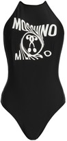 Moschino Logo Halter Bodysuit