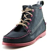 Sebago Beacon Women Moc Toe Suede Ankle Boot.