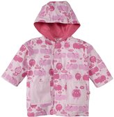 Magnificent Baby Hippo Friends Raincoat (Baby) - Pink-12 Months