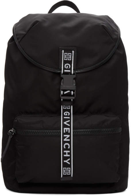 Givenchy Black 4G Light 3 Backpack
