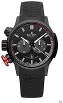 Edox Unisex Watch Rally Rally Chronograph Instruments Chrono Quartz Rubber 10302 37 N NIN