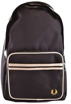 Fred Perry Men's Black Polyester Backpack.