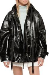 AllSaints Kelsey Nya Faux Leather Jacket