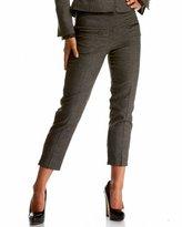 Italian Plaid & Tweed Ankle Pant