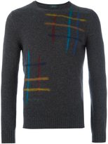Zanone paintbrush detail jumper