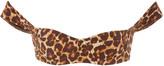 Tropic Of C Tropic of C South Pacific Leopard-Print Bikini Top