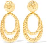 Ben-Amun Gold-Tone Clip Earrings