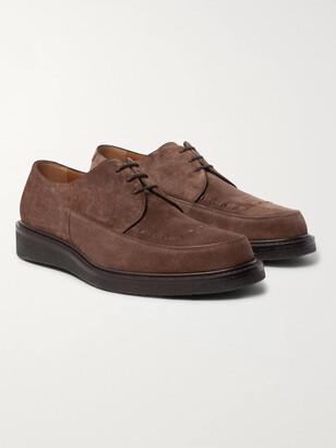 Mr P. Peter Suede Derby Shoes