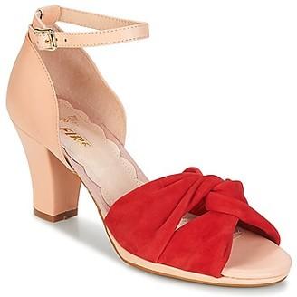 Miss L Fire Miss L'Fire EVIE women's Sandals in Red