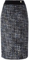 Class Roberto Cavalli tweed pencil skirt - women - Cotton/Polyamide/Polyester/Wool - 42