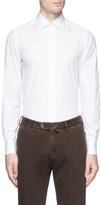 Isaia 'Parma' cotton poplin shirt