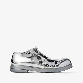 Marsèll Zucca Zeppa Round Toe Oxford (Silver) Women's Boots