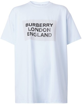 Burberry Oversized Logo T-Shirt