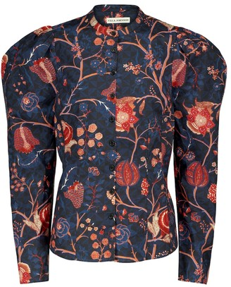 Ulla Johnson Harriet floral cotton shirt